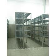 Полочный стеллаж от производителя 1150*400*2000/5-полок фото