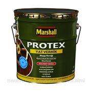 Лак яхтный, Маршал, Marshall Protex Yat Vernik глянцевый, 13 л, бесцветный фото