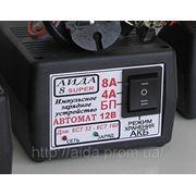 Зарядное предпусковое АИДА-8super —автомат. импульсное десульфатирующее для АКБ 32-160А*час, режим хранения фото