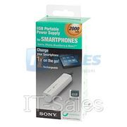портативная зарядка Sony Sony USB CHARGER Li-ion version 2000 mAh (CP-ELS) фото