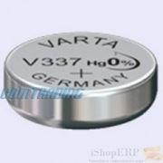 Батарейка V337 VARTA Watch silver фото