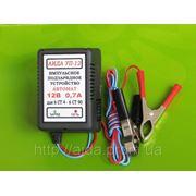 Зарядное устройство для эхолотов, мото, авто «АИДА УП-12 автомат». фото