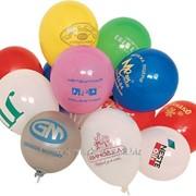 Размещение рекламы на воздушных шарах фото