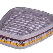 Фильтр 3М 6057 для защиты от паров и газов фото