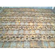 Подкладки железнодорожные КБ50 фото