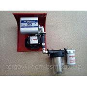 Топливораздаточная колонка заправки дизельного топлива 220В, 60 л/мин фото