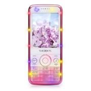 TM-D300 Texet сотовый телефон, Белый-розовый фото