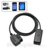 Беспроводной WiFi адаптер OBDII для iPhone, iPod, iPad фото