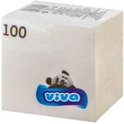 Viva 1-слойные 100 листов белые 24*24см (Вива) фото