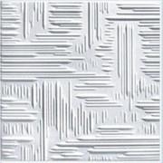 Плита потолочная белая 50х50см Арт4002 фото