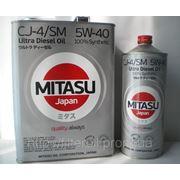 Масло моторное Mitasu Ultra Diesel CJ-4/SM 5W-40 100% Synthetic 4лит. (банка) фото