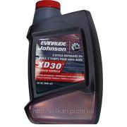 Масло Evinrude/Johnson XD-30 - для 2-х тактных подвесных двигателей 946мл фото