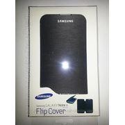 Чехол Samsung (Flip Cover) для Galaxy Note 2 + пленка с тряпочкой фото
