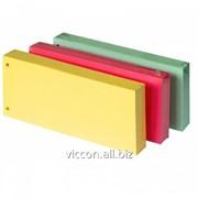 Разделители картонные цветные, 105 x 240 mm, forpus, 100 шт./уп FO23136-39 фото