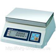 Весы для простого взвешивания CAS SW 10 фото