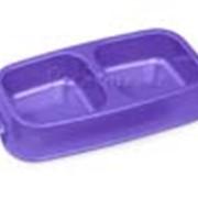 Миска пластиковая двойная Van Ness 1,45 л фото