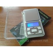 Карманные весы Pocket scale MH-500, купить Портативные, ювелирные электронные весы 0,01-100 гр фото