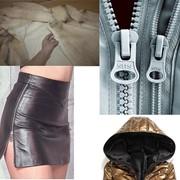Замена молнии в шубе, в дубленке, на кожаных брюках, в юбке и на любой верхней одежде. Киев. фото