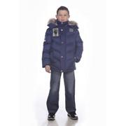 Куртка пуховая для мальчиков А314/12-020 фото