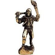 PIR-11 Фигурка литая металлическая Пират Хокинс, латунь фото