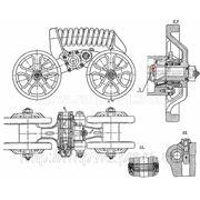 Каретка подвески передняя и правая задняя левая (85.31.001-1) ДТ-75М фото