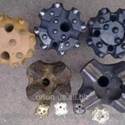 Буровые коронки Кнш-110,к-110 ,п-110 пневмоударники фото
