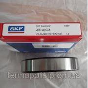 Шариковые подшипники 6214 2RS, 6214 ZZ (180214, 80214) SKF FAG SNR фото