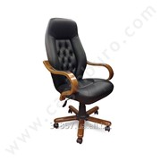 Кресло руководителя Klas Makam Koltugu Ahsap, код KLS01 фото