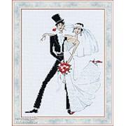 Набор для вышивания Свадебное танго фото