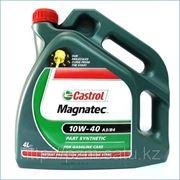 Полусинтетическое моторное масло CASTROL Magnatec 10W-40 A3/B3 4 литрa фото