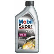 Полусинтетическое моторное масло MOBIL SUPER 2000 10W-40 1 литр фото