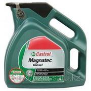 Полусинтетическое моторное масло CASTROL Magnatec Diesel 10W-40 B3 4литрa фото