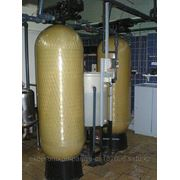 Установки обезжелезивания воды безреагентные, реагентые. Удаление железа. Аэрация фото