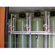 Модульная станция очистки воды СОКОЛ. Фильтры для очистки воды. фото
