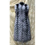 Меховой жилет индивидуальный пошив и продажа фото