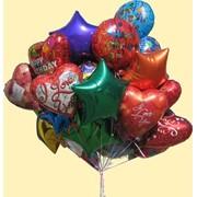 Доставка шаров, оформление праздников шарами. фото