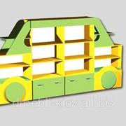 Стінка Машина 2800х350х1500 кольорова фото