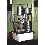 Агрегат наполнительно-закаточный Ж7-АНЗ-7 для розлива, подачи пробки и укупоривания стеклянных бутылок емкостью 0,05, 0,1л, 0,25л, 0,5л, 0,7л, призв-ть 250 б/час фото
