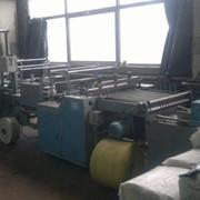 Машина для производства пакетов с усиленной прорубной ручкой Hemingstone HM-810SF (Тай фото