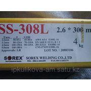 Электроды по нержавейке Е308 д.2,6мм SOREX(Индия) фото