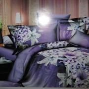 Белье постельное Лилия в ночи фото