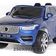 Детский электромобиль Dake Volvo XC90 Blue 12V 2.4G - XC90-BLUE фото