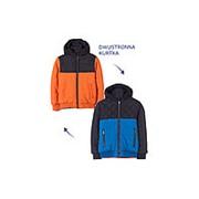 Куртка для мальчиков двусторонняя фото