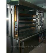 Печь Хлебопекарская, Подовая, на экономичном топливе фото