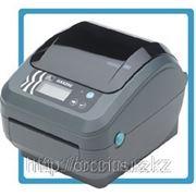 Zebra GX420d термотрансферный принтер этикеток фото