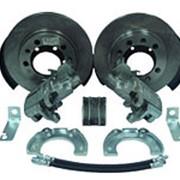 RUS Комплект дисковых тормозов УАЗ задний мост Спайсер / Патриот с 2013 г. C ручным тормозом. фото