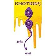 Фиолетовые вагинальные шарики Emotions Gi-Gi фото