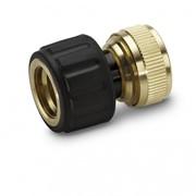 Латунный коннектор 3/4 с функцией Aqua Stop Номер заказа: 2.645-018.0 фото