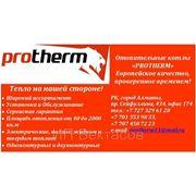 Отопительные котлы PROTHERM фото