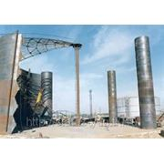 Монтаж резервуаров вертикальных стальных фото